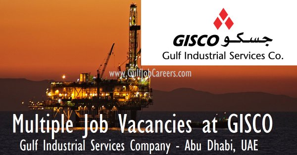 GISCO Hiring All Over UAE!