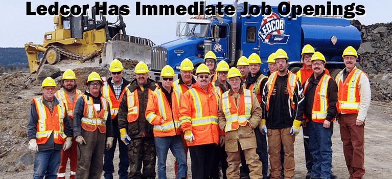 Ledcor hiring big time, all over Canada