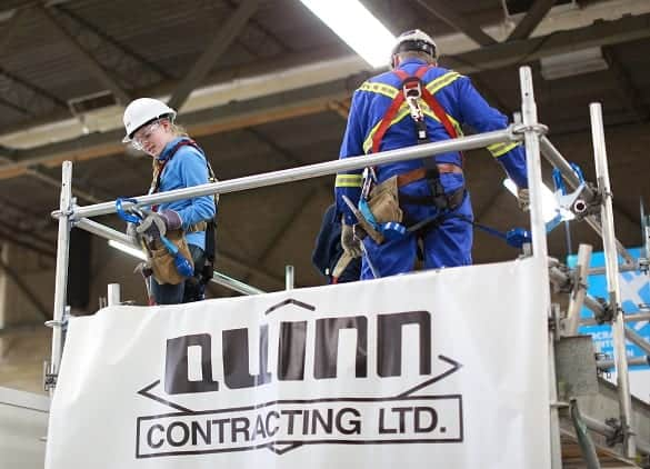 Big Openings @ Quinn Contracting
